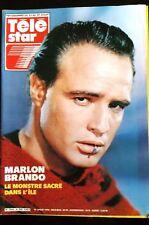 TELE STAR 19/07/1983; Marlon Brando/ Loulou Gasté/ N. Croisille/ Christophe/ Spa