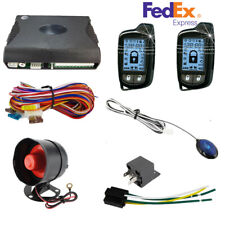 New listing 2 Way Car Alarm Security System With 2 Pc Lcd Controller Silent Arm/Disarm/Alert