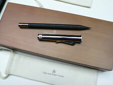 Graf von Faber-Castell Perfect Pencil (Black Cedar Pencil with Chrome Cap)