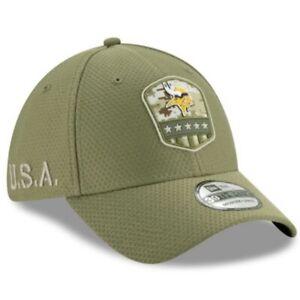 Minnesota Vikings New Era 39Thirty Salute to Service Sideline Hat Cap Various
