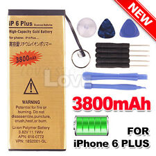 3800 mAh For Apple iPhone 6 Plus High Quality Replacement Battery Free Tools