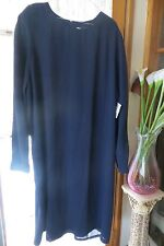 Classic Style ~ DISCOVERY ~ Blue ~ Corporate  DRESS * Size 24 * NWT * REDUCED !!