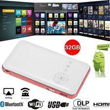 Mini Pocket Smart Projector Android DLP Dual WIFI Bluetooth 1080P 32GB V5N7
