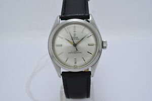 Tudor Rolex Oyster 7934 Small Rose Manual Wind Vintage Watch - Circa 1962