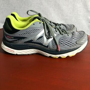 New Balance 880 Men's Size 12 Running Shoes Gray Blue Athletic Training Sneakers