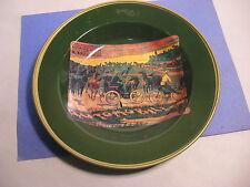 "Vintage Nevco ""Automobile"" Metal Serving Bowl"