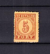 Nederland Port 1 Cijfer 1881 ongebruikt met de originele gom, lees svp