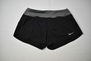 Nike Running Shorts Women's Black Dri-Fit NEW M