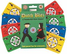 NEW Dutch Blitz Traditional Popular Family Friends Card Game Skill Smarts Speed