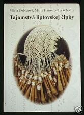 BOOK Slovak Folk Bobbin Lace in Liptov regional costume peasant craft cipka kroj