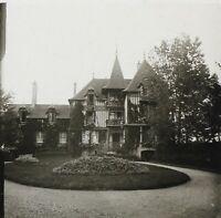 Francia Deauville Villa Ganay Foto Stereo PL32P1n Placca Da Lente Vintage