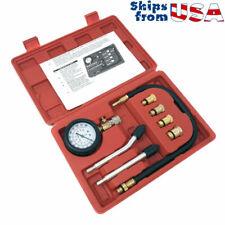 Engine Compression Tester Kit 0-300 PSI Gauge Cylinder Tester Kit Tool