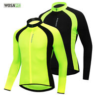 Men's Cycling Jerseys Long Sleeve MTB Road Team Bike Riding Sports Shirt Elastic