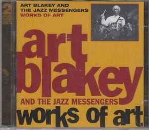 "Art Blakey & Jazz Messengers ""Works Of Art"" NEW & SEALED 2CD (Snapper 2000)"