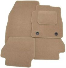 BMW 1 SERIES E87 2004-2011 TAILORED CAR FLOOR MATS- BEIGE WITH BEIGE TRIM