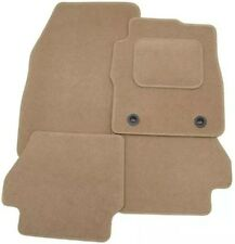 LEXUS IS220 IS250 2005+ TAILORED CAR FLOOR MATS- BEIGE WITH BEIGE TRIM