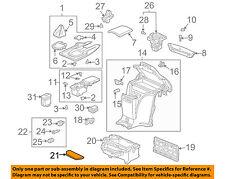 HONDA OEM 00-09 S2000 Center Console-Mat Liner 84554S2A000