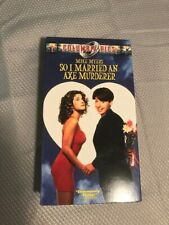 So I Married An Ax Murderer VHS with Dust Jacket