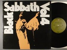 Black Sabbath Vol 4 Hard Rock; Heavy Metal