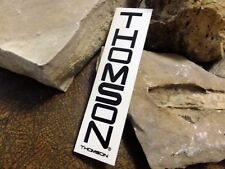 Thomson  Bike sticker MTB ride decal bicycle race pedal