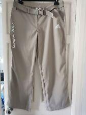 Rare ADIDAS VIK Trousers London 2012 Olympics Stone Cargo Hiking Pants - W14 REG