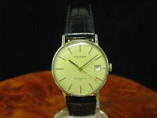 Priosa 14kt 585 Gold Automatic Herrenuhr mit Datum / Kaliber ETA 2783