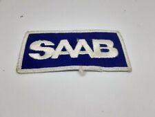 patch ecusson brodé SAAB L10cm H4,5 cm