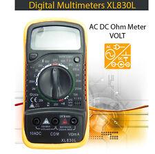 LCD Multimeter Digital AC/DC Voltmeter Volt Resistance OHM Current Tester Meter