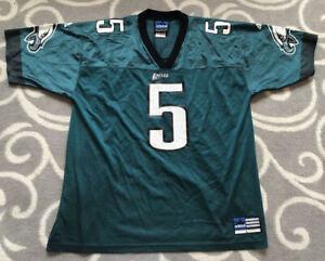 Adidas NFL Philadelphia Eagles Donovan Mcnabb #5 Green Football NFL Jersey Large
