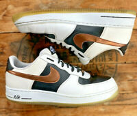 Nike Air Force One Copper Low Mens size 13 Black White Sneaker 488298-151 2014