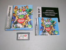 SIMS 2 PETS (Game Boy Advance GBA) CIB Complete in Box