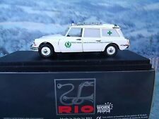 "1/43  Rio (Italy) Citroen ID 19 break ""Croce Verde Viareggio"" Ambulance SL 012"