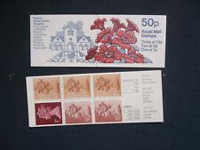Fb43 Botanical Gardens 50P Machin Stamp Booklet Rhododendron Umfb40