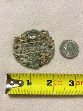 Vintage Metal mother brooch Clear Stones For Repair Refurbish
