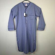 Brooks Brothers Wrinkle Resistant Nightwear Pajamas One Piece Night Shirt Mens S
