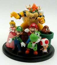 Super Mario Bros. Diorama - Club Nintendo - Sammelfiguren - Toad, Bowser, Yoshi
