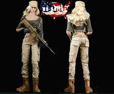 "1/6 Women Combat Soldier Clothing Set For 12"" Phicen Hot Toys Female Figure USA"