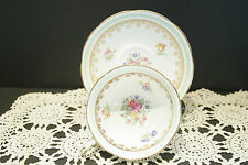 Outstanding Vintage Circa 1945 Adderley Bone China Tea Cup and Saucer MINT!