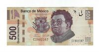 500 Pesos Mexiko 2010 Bank Note Mexico - Diego Rivera / Frida Kahlo