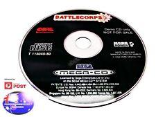 BATTLE CORPS SEGA MEGA CD DRIVE RARE PAL DEMO GAME SUIT COLLECTOR GENESIS NOMAD