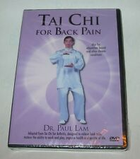 Tai Chi For Back Pain DVD by Dr. Paul Lam Brand NEW Sealed