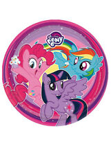 My Little Pony Paper Party Plates Pk8