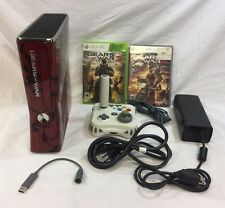 Microsoft Xbox 360 S Gears of War Limited Edition Console 320GB Bundle *READ