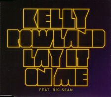 Kelly Rowland Featuring Big Sean ‎– Lay It On Me CD RARE UK PROMO RADIO EDIT NEW