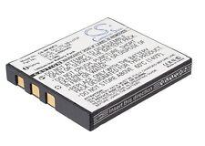 BATTERIA UK PER SAMSUNG DIGIMAX mediante TERMOSTATO sb-l0737 SLB-0737 3.7 V ROHS