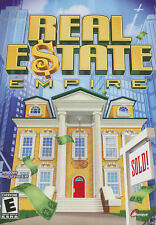 REAL ESTATE EMPIRE - Property Investment Tycoon Type Sim PC Game - NEW in BOX