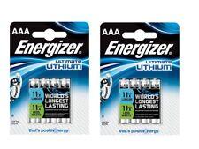 ENVOI AVEC SUIVI - Lot de 8 piles Energizer Ultimate Lithium AAA  LR03 MN2400