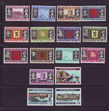 Guernsey Sc 8-23 1969 1st long stamp set mint NH