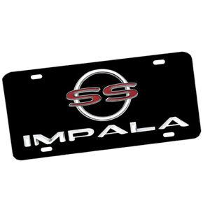 1964 Impala SS Super Sport Chevrolet Exterior Colors Metal Sign License Plate