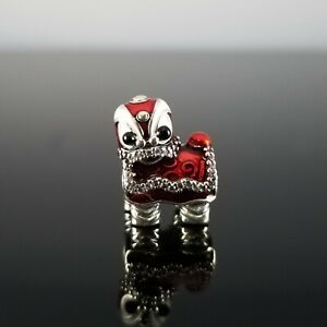 Authentic Pandora Chinese Lion Dance Silver Charm Chinese New Year!